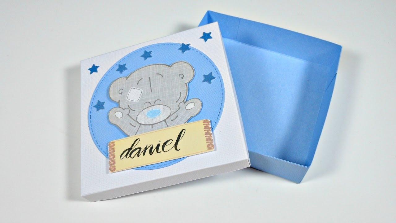 ideas para envolver regalos 8 caja regalo baby shower youtube