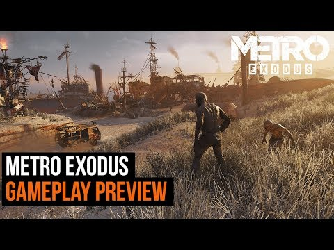 Metro Exodus gameplay preview