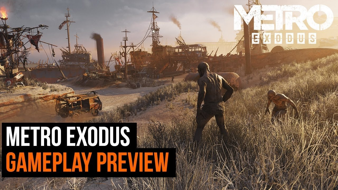 Metro Exodus gameplay preview