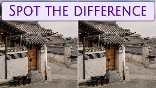 [ Brain games ] Ep.027 Nations_01.Korea_Seoul | Spot the difference | photo puzzles | Healing