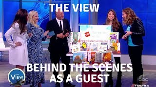 Donna Khalife and Rosy Khalife on The View! Behind The Scenes with Shark Tank Company Surprise Ride