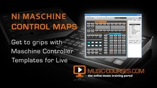 Controlling Ableton Live with Maschine - New Controller Editor Template Guide