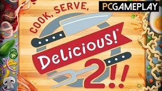 Cook, Serve, Delicious! 2!! Gameplay (PC HD)