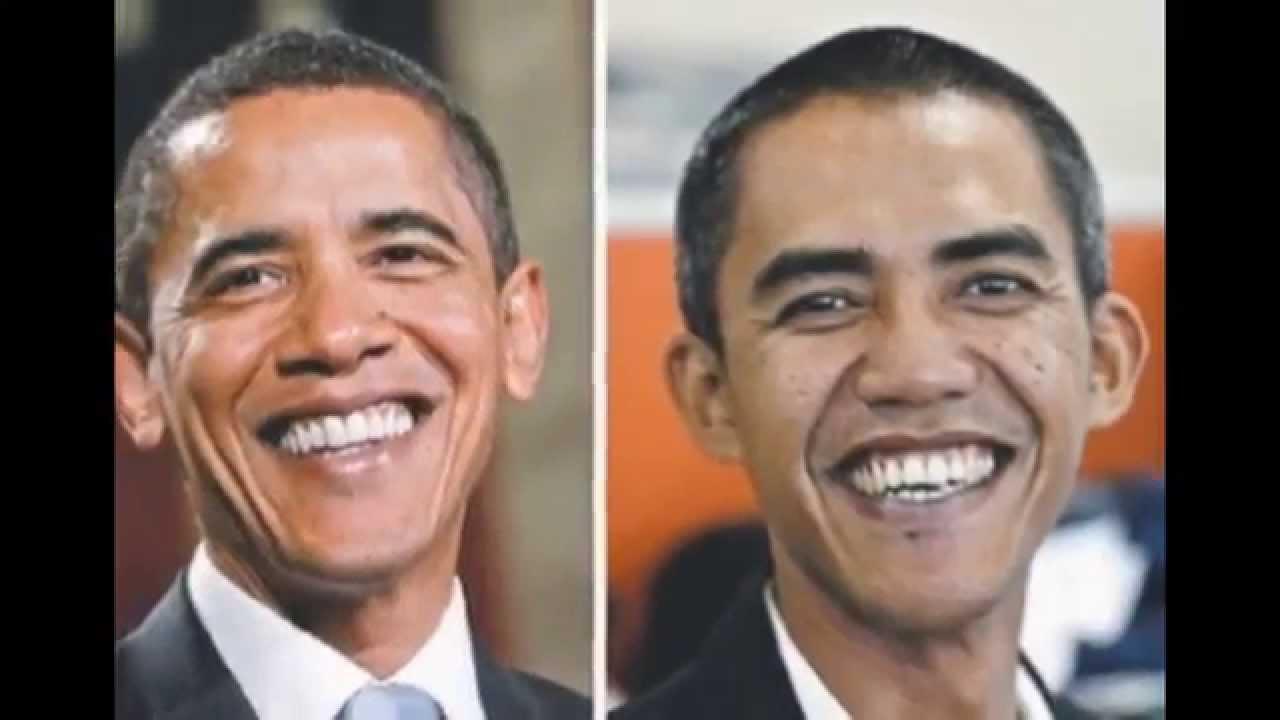 Indonesian Obama Impersonator Barack Obama Double Obama
