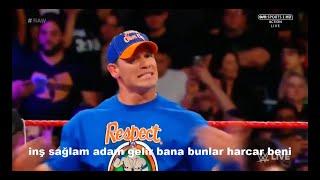 WWE Komik Montaj - John Cena & Roman Reigns VS The Miz & Samoa Joe #7 (küfürlü))