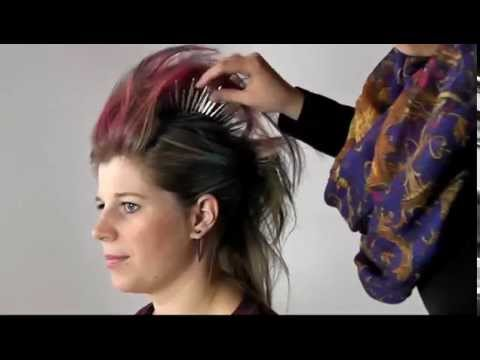 Punker Frisur Fasching Karneval YouTube