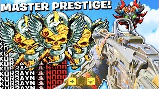ENTERING MASTER PRESTIGE // TOP RANKED COD PLAYER // *NEW* UPDATE! // CALL OF DUTY: BLACK OPS 4