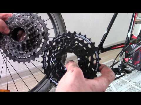 Замена кассеты SHIMANO HG200,7ск,12 32 на велосипеде Stels Navigator 630