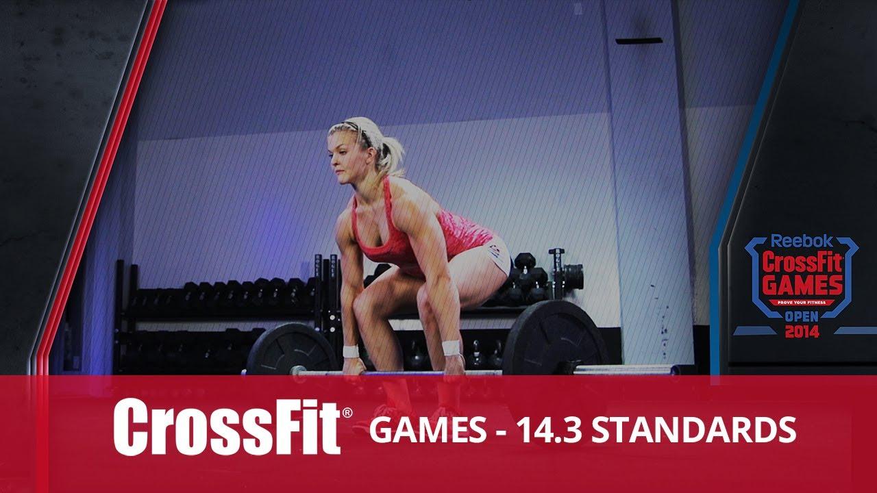 Open Workout 14.3 Standards