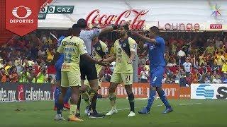 Gol anulado | América 0 - 0 Cruz Azul | Clausura 2019 - Jornada 14 | Televisa Deportes