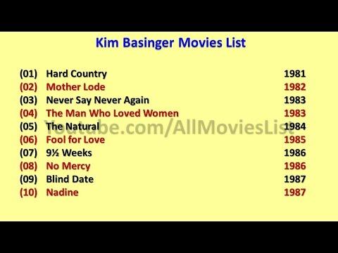 Kim Basinger Movies List