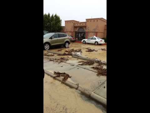 Flooding close to Si Senor Resturant in Farmington 9-10-2013