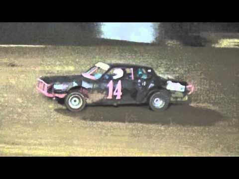 Ark La Tex Speedway Begginer Cruiser heat race Fan night 4/23/16