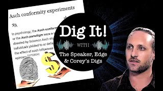 Hive Mind News and Digs: Zach Vorhies / Asch Experiment and Selling Your Data: Dig it! #11