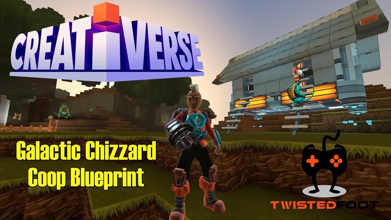 Galactic chizzard coop blueprint creativerse pc lets play galactic chizzard coop blueprint creativerse pc lets play gameplay malvernweather Images