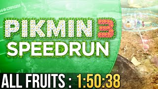 Pikmin 3 All Fruits Speedrun in 1:50:38