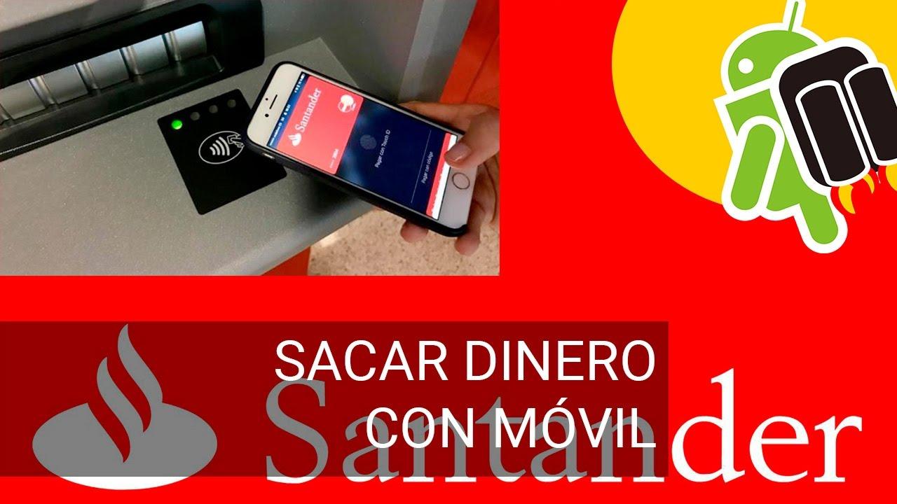 Sacar dinero del cajero con el m vil en banco santander for Cajeros banco santander para ingresar dinero