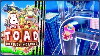 Captain Toad: Treasure Tracker #8 - Hydrauliczne szaleństwo!