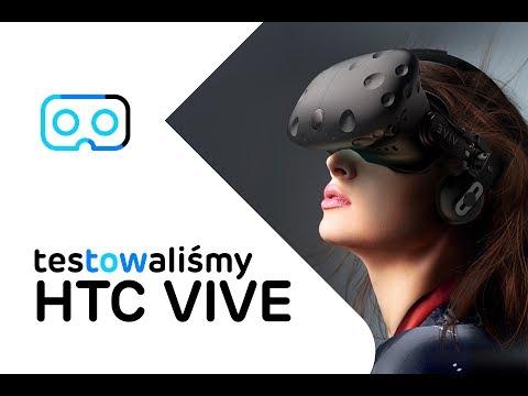 Wirtualna rzeczywistość, zobacz test okularów VR - HTC Vive Virtual Reality