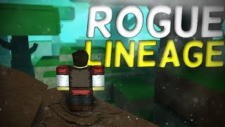 Playing Rogue Lineage First Time! - Roblox Rogue Lineage (Wave 1)(closed access)