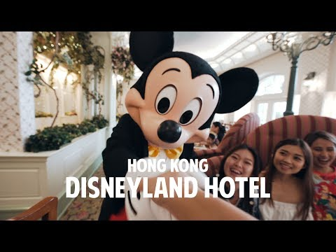 We stayed in Hong Kong Disneyland Hotel!