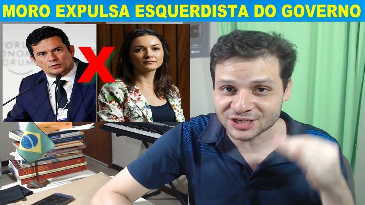 Sérgio Moro desiste de esquerdista no governo Bolsonaro / José de Abreu / QuáQuá