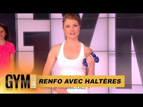 RENFORCEMENT AVEC HALTERES