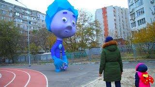 Видео для детей, Фиксики ( fixies) стали огромными! (top 8 серия на KidsFM)