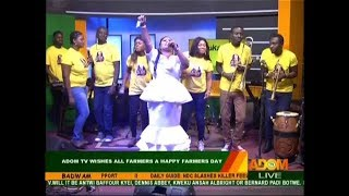 Obaapa Christy's Performs Live on Adom TV (7-12-18)