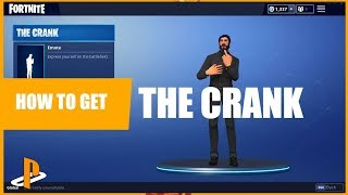Fortnite Battle Royale How to get the crank emote (How to get the middle finger emote)