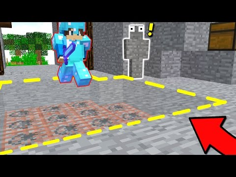 INVISIBLE EXPLODING TNT MINECRAFT TRAP! (Minecraft Trolling)