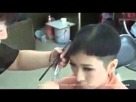 Asian haircut salon