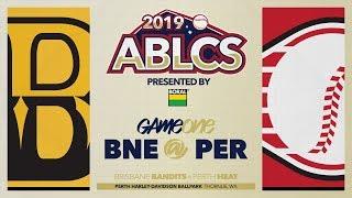 #ABLCS GAME ONE | Brisbane Bandits @ Perth Heat