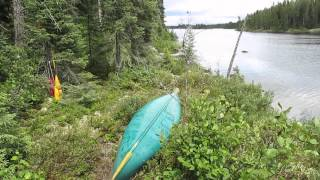 Starting the solo canoe trip - 17 day solo canoe trip - Part 1