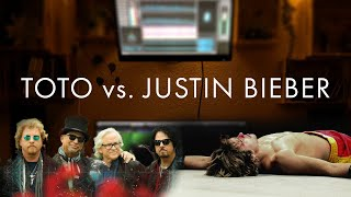 @Justin Bieber copied @TOTO?   ANYONE vs. GOIN' HOME - song mashup