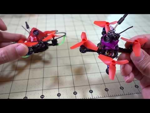 Фото Задорный МанЁвренный микро FPV дрон / BeeBee-66 1S. Квадрокоптер FPV