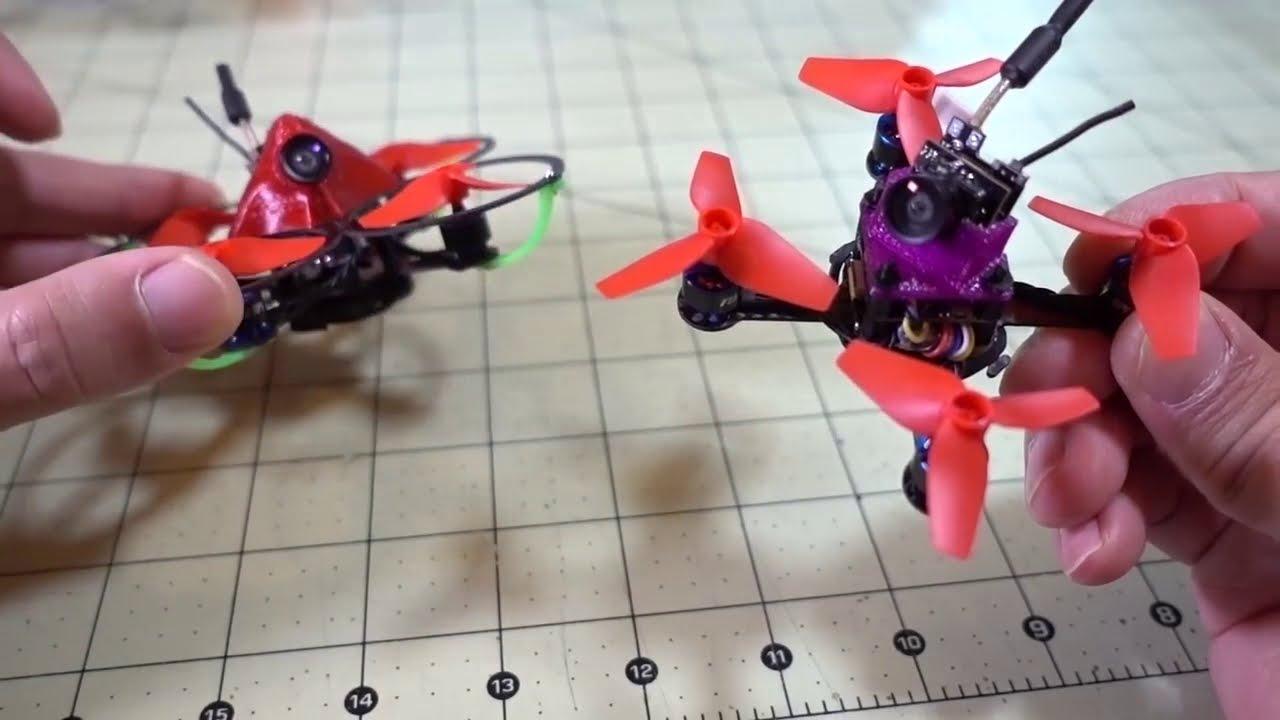 Задорный МанЁвренный микро FPV дрон / BeeBee-66 1S. Квадрокоптер FPV фото