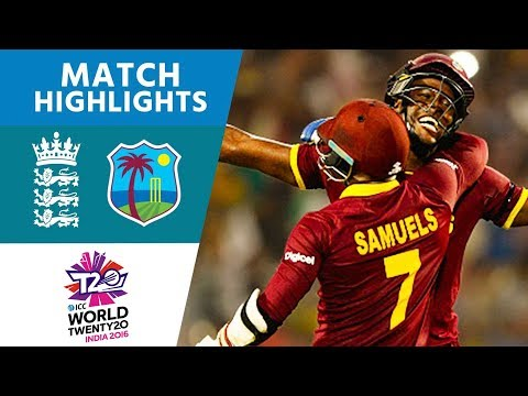 ICC WT20 Final  England vs West Indies  Match Highlights