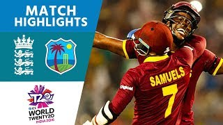 Video ICC #WT20 Final - England vs West Indies - Match Highlights download MP3, 3GP, MP4, WEBM, AVI, FLV Desember 2017