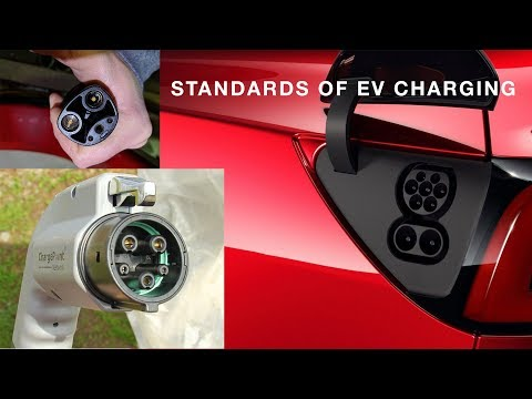 What Are The Different Standards Of EV Charging?