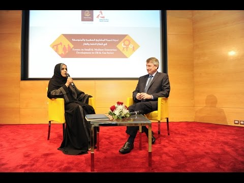 Azza Al Ismaili in an interactive session with Raoul Restucci