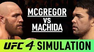 Conor McGregor Vs Lyoto Machida - EA Sports UFC 4 Simulation - (CPU Vs CPU)