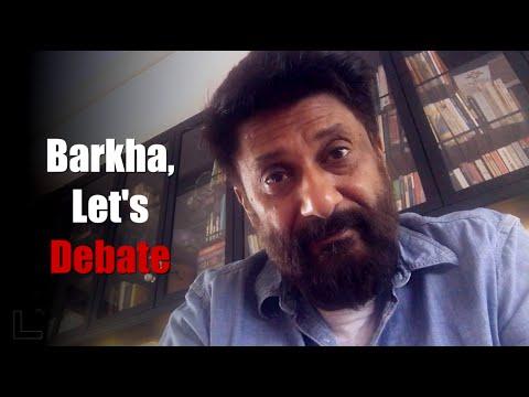 Vivek Agnihotri rebutts Barkha Dutt, exposes her fake narrative