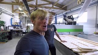 $100,000 Biesse CNC  Building The Paulk Workbench