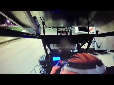 600 mini sprint heat race at north Florida speedway