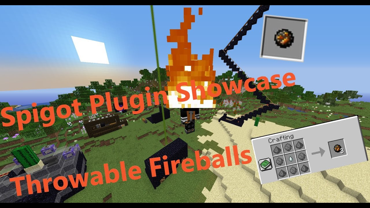 Throwable Fireballs | SpigotMC - High Performance Minecraft