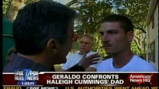 GERALDO RIVERA CONFRONTS GRIEVING FATHER EXPOSES HIM AS DRUG INFORMANT CHASED OFF BY FAMILY