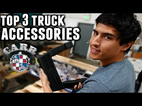 Top 3 Truck Accessories From Carr Products | Truck Steps | Top Truck Accessories |  LD Step | Hoop