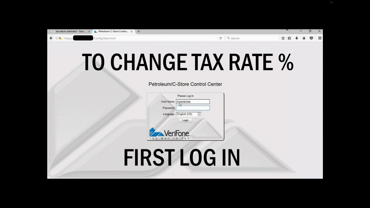 How To Change The Tax Rates On Commander Ruby Ci Ruby