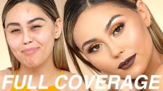 (mostly) Affordable Full Coverage Fall Makeup Tutorial | Roxette Arisa